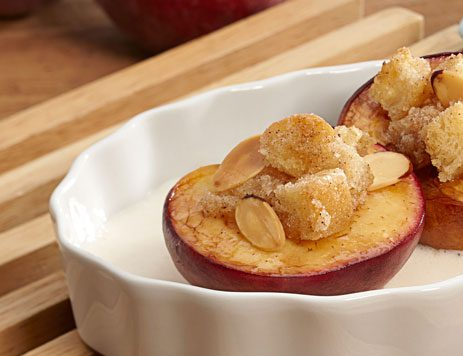 Baked Summer Peaches