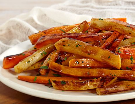 barista balsamic roasted root vegetables recipe