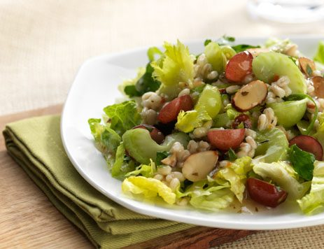 Barley, Grapes and Celery Salad