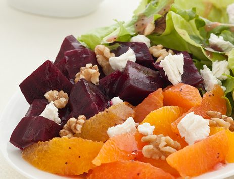 Beet and Toasted Walnut Salad