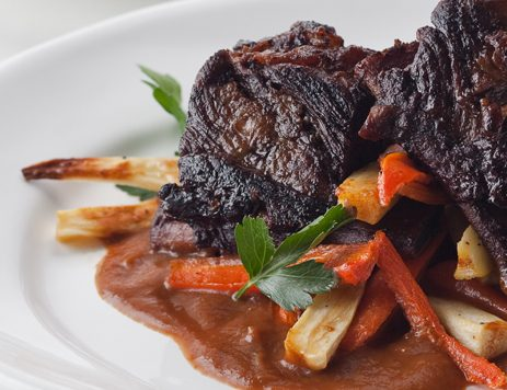 Braised Short Ribs With Carrots and Parsnips Recipe