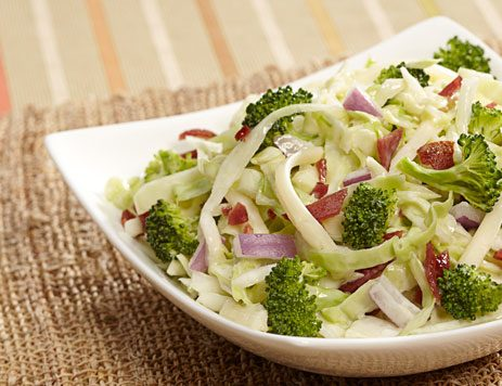 Broccoli and Cheese Slaw