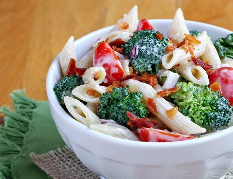 Broccoli Bacon Pasta Salad
