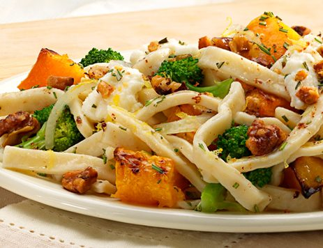 Butternut Squash & Broccoli with Brown Butter Noodles