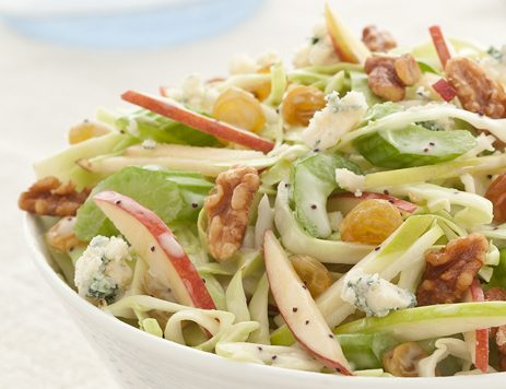 Cabbage, Celery and Apple Crunch Salad