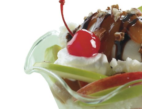 Caramel Apple Splits Recipe