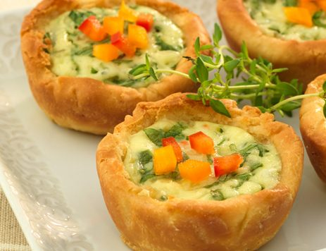 Creamy Ranch Quiche