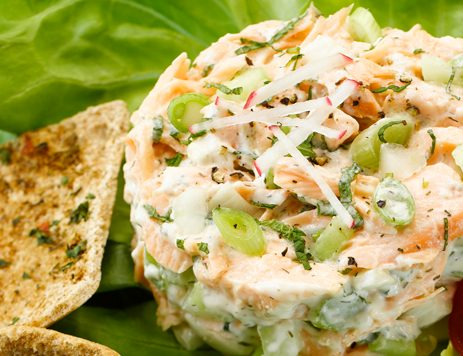 Cucumber Salmon Dill Appetizer