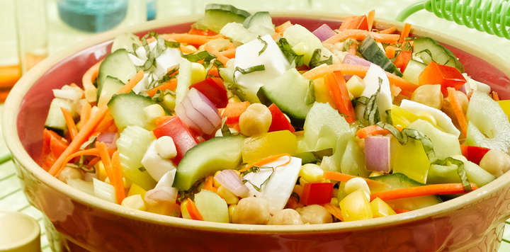 fresh from the garden salad - Garden Salad Recipe