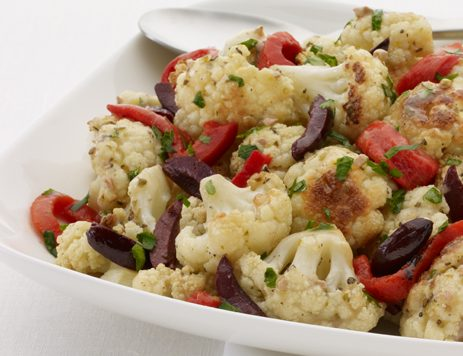 Greek Roasted Cauliflower