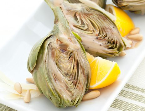 Grilled Baby Artichokes Recipe