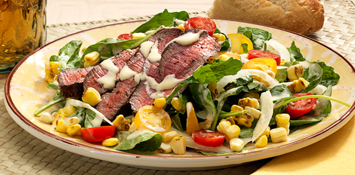 hanger steak salad recipe