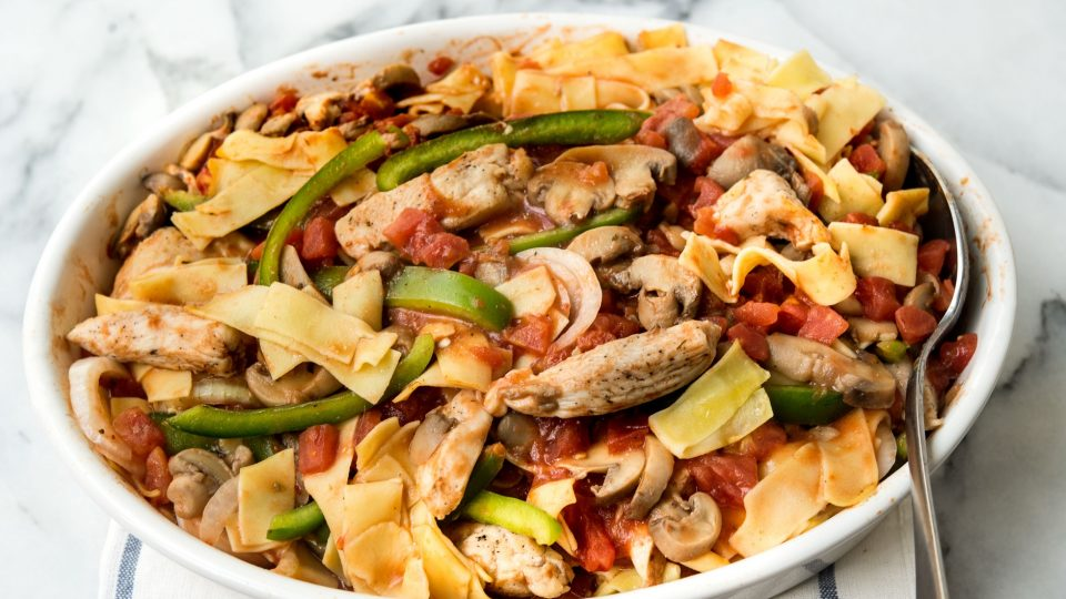 how to cook chicken cacciatore