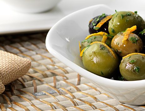 Marinated Olives Recipe