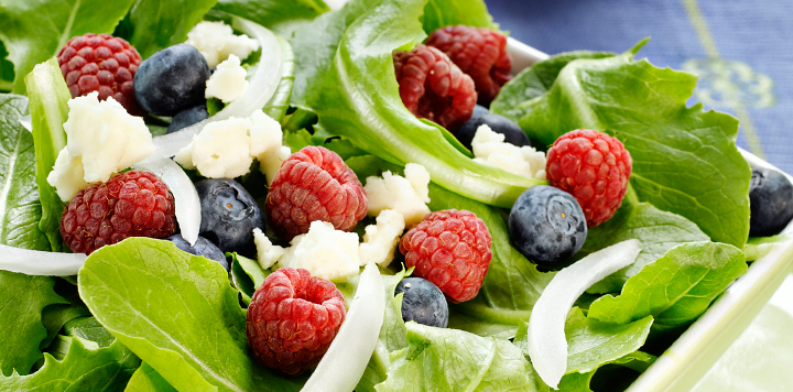 Mixed Berry Salad Recipe - What's for Dinner