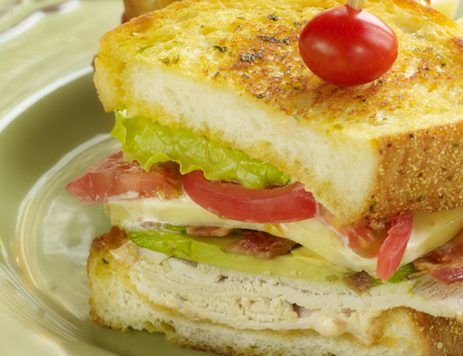 Texas Toast Turkey Club Sandwich Recipe