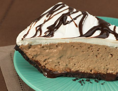 Quick Chocolate Mousse Pie