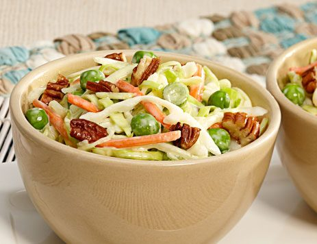 Southern Pea and Pecan Slaw