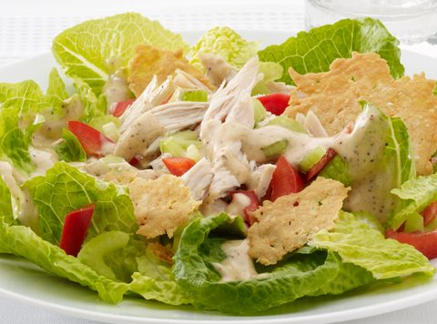 Spicy Caesar Chicken Salad