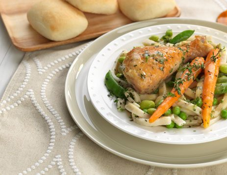 Spring Chicken and Vegetable Stew