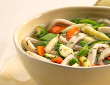 Springtime Vegetable Noodle Soup Recipe