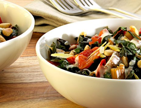 Steamed Swiss Chard