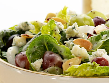 Three Grape Salad with Poppyseed Dressing
