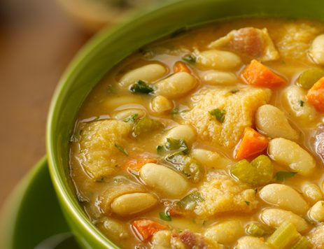 Tuscan Bean Soup or Ribollita