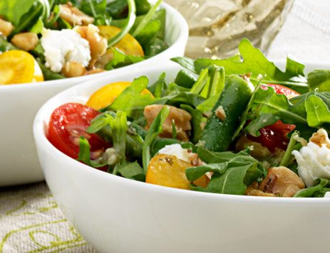 Warm Green Bean and Walnut Salad Recipe