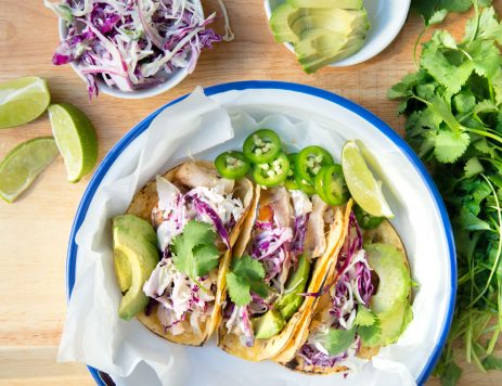 Grilled Baja Fish Tacos