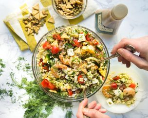 Shrimp Orzo Salad With Dill and Tomatoes