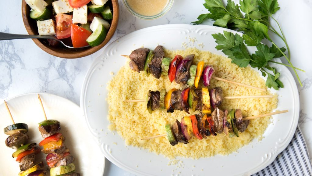 couscous and kebabs