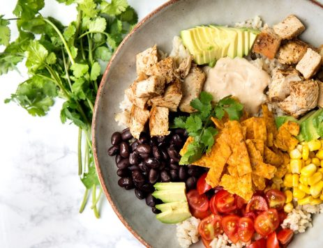 Spiced Chicken Taco Bowl