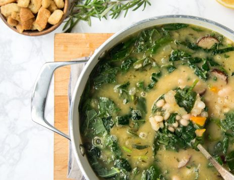 White Bean, Rosemary and Sausage Soup