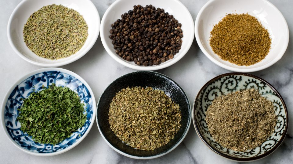 6 Spice Rack Staples