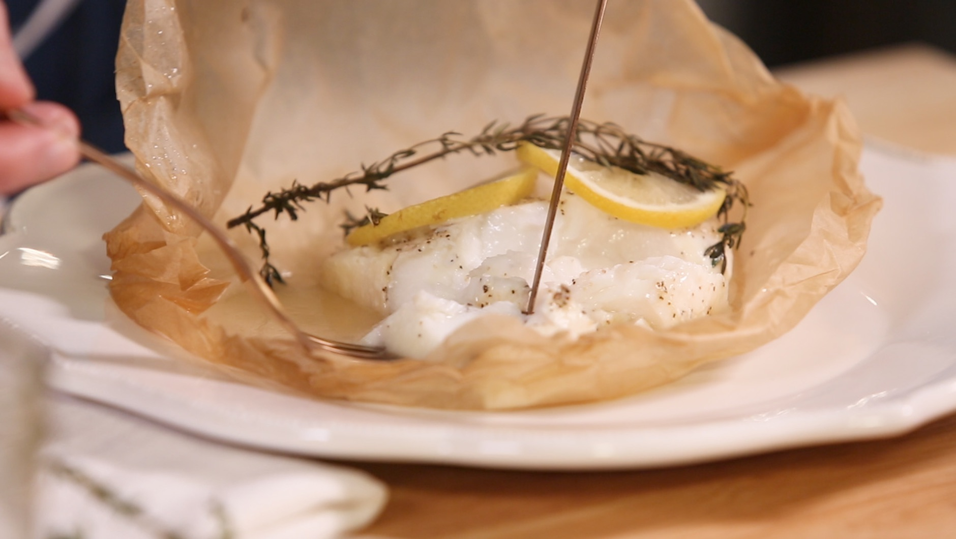 How to make fish en papillote what 39 s for dinner for How to make fish