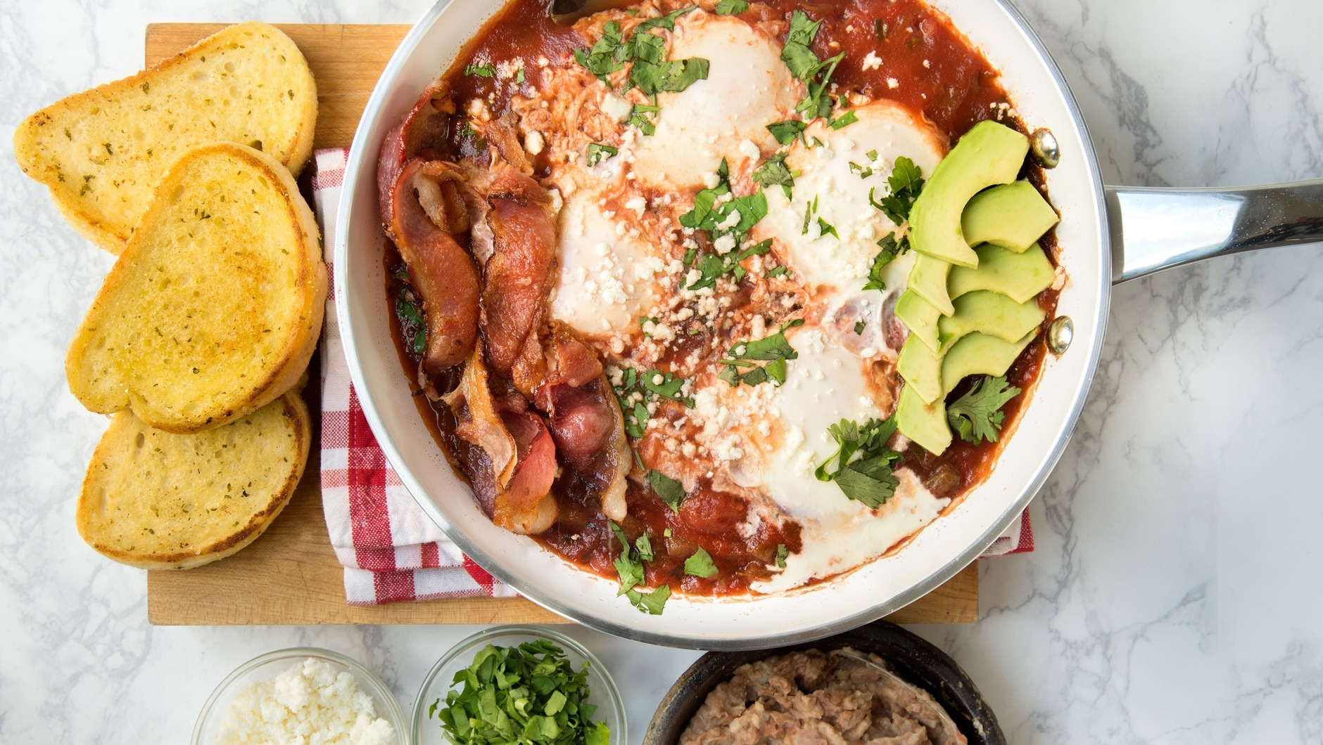 Huevos Rancheros With Bacon And Pinto Beans What S For Watermelon Wallpaper Rainbow Find Free HD for Desktop [freshlhys.tk]