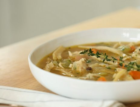 How to Make Chicken Noodle Soup in 4 Easy Steps