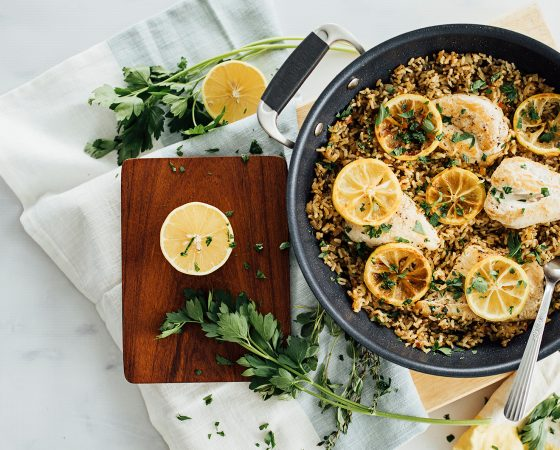 One-Pot Lemon Herb Chicken