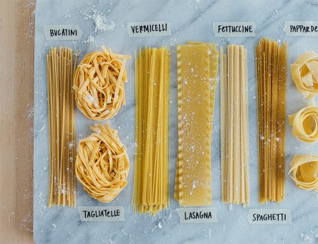 From Agnolotti to Ziti: A Picture Guide to Pasta Types