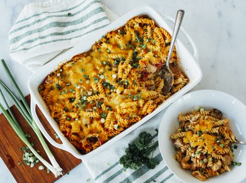 BBQ Ranch Chicken Casserole