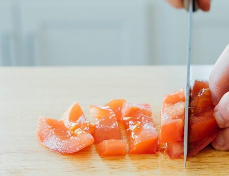 Sous Chef Tips: How to Dice a Tomato
