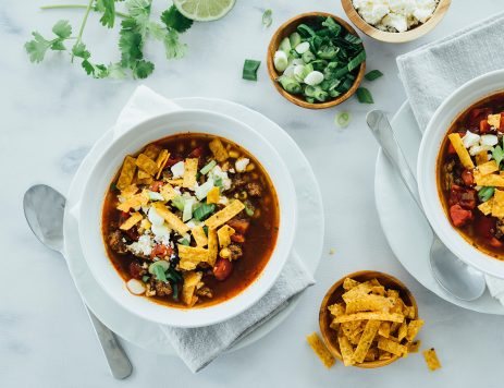 Taco Soup with Ground Beef