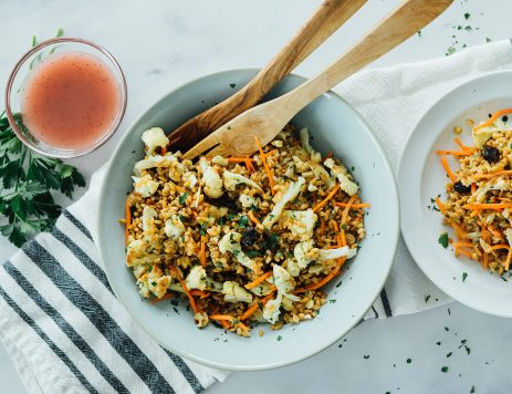 Wheat Berry and Cauliflower Salad