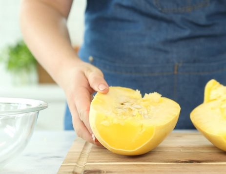How to Cut and Cook Spaghetti Squash