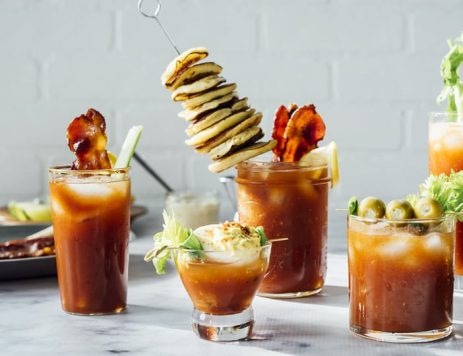 5 Unexpected Bloody Mary Garnishes